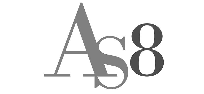 AS8 logo